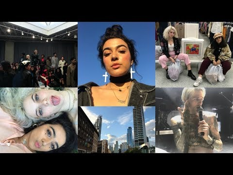 NYC VLOG ☆ thrifting, concerts, nyfw