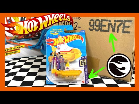 Hot Wheels 2020 N Case TREASURE HUNT The Yellow Submarine!