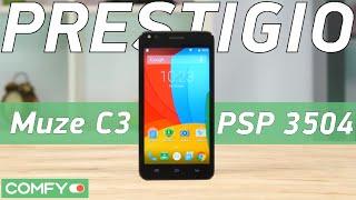 Prestigio Muze C3 (PSP 3504 DUO ) доступный селфифон с неплохим оснащением - Видео демонстрация