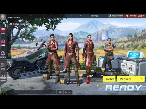 LIVE: RULES OF SURVIVAL FIRE TEAM #10