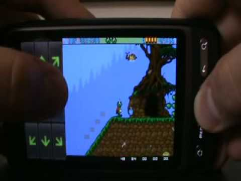 Superfrog on Android - UAE4Droid Amiga Emulator