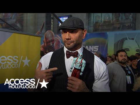'Guardians Of The Galaxy Vol. 2': Dave Bautista On The 'Overwhelming' Premiere | Access Hollywood