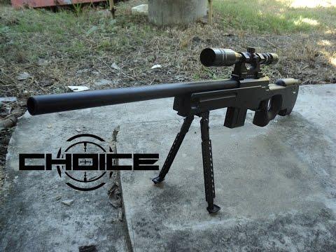 ปืนอัดลมยาว AWP จากร้าน Choice BB Gun Shop