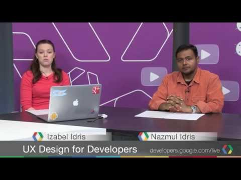 UX Design for Developers, Episode 2