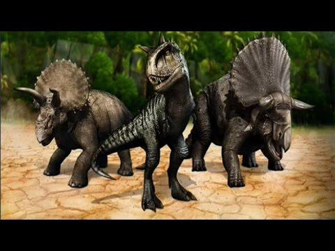 HORNED DINOSAURS  - WEEKEND BATTLE EVENT - Jurassic World The Game