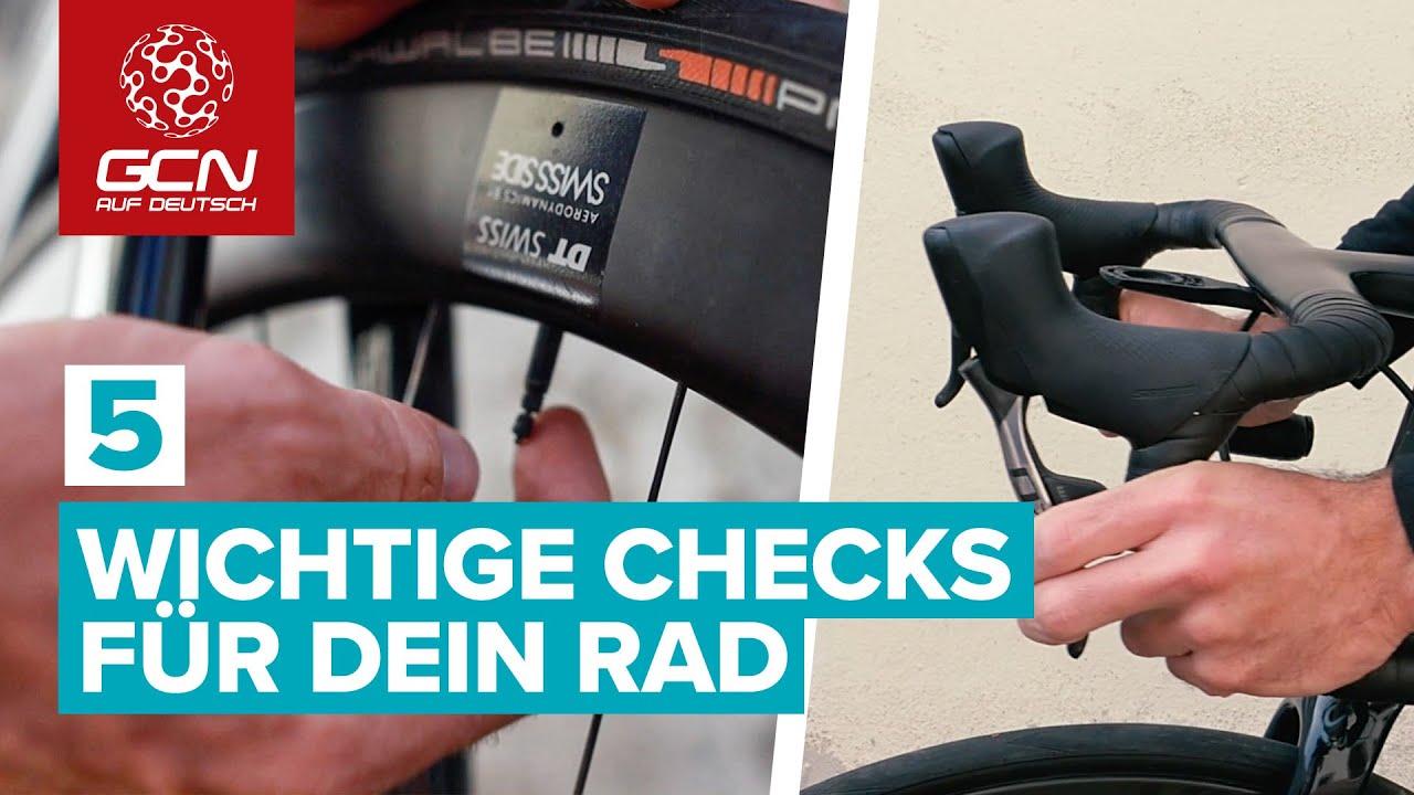 Download 5 wichtige Checks für dein Rennrad | Fahrrad-Check