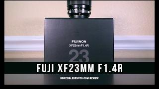 Фуджі XF 23 мм f/1.4 R об'єктив коментар