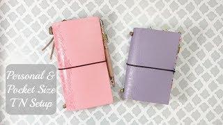 Mommy Lhey Traveler's Notebook Setup - Personal Size TN, Pocket Size TN