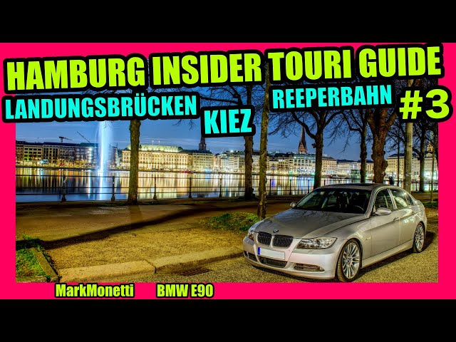 Hamburg's Insider Touri Guide Teil 3 | Landungsbrücken Reeperbahn Kiez | MarkMonetti
