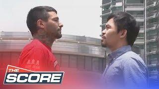 The Score: Sen. Manny Pacquiao's match against Lucas Matthysse