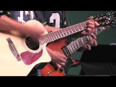Shorewood Christian School guitar students