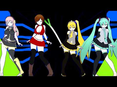 【MMD】 【R-15】 Ghostly Dance Version A - Pac Baby