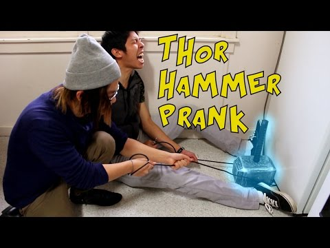 Thor's Electromagnetic Hammer is IMPOSSIBLE TO LIFT from YouTube · Duration:  12 minutes 44 seconds
