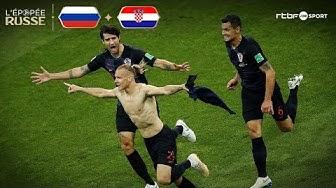 Russie | Croatie (2-2) TAB (3-4) Résumé du match
