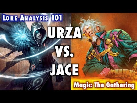 MTG LORE - An Analysis of Urza vs. Jace from Magic: The Gathering