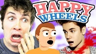 POOR JUSTIN BIEBER - Happy Wheels