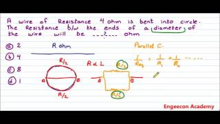 Physics: Resistance Series Parallel, Entry Test Hint & Trick
