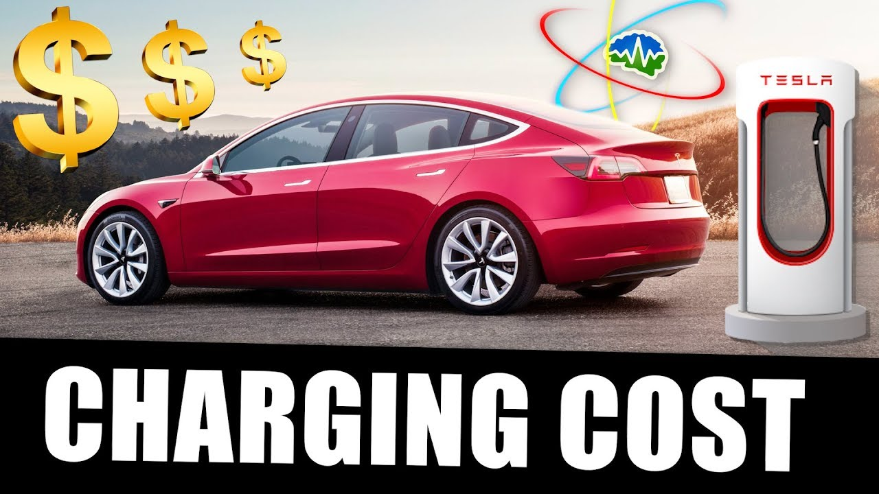 How Much Does It Cost To Charge A Model 3