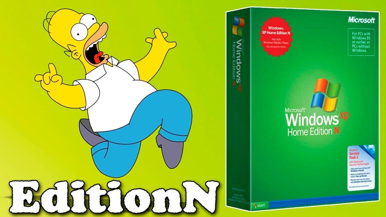 Установка Windows XP Edition N Professional на современный компьютер