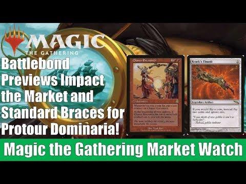 MTG Market Watch: Battlebond Previews Impact the Market and Standard Braces for Protour Dominaria