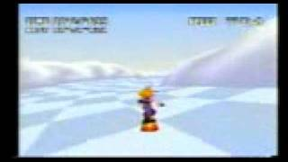 Final Fantasy 7 Snowboarding Cell phone game