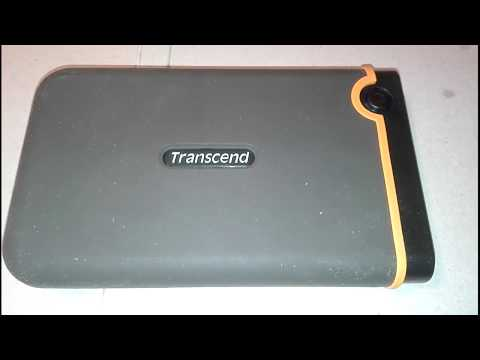 Transcend Storejet External Hard Disc Repair (full Description)