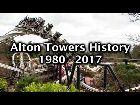 Alton Towers History 1980 - 2017