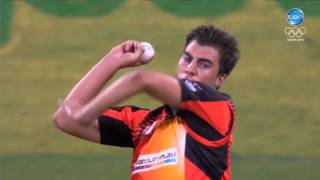 Sixers v Scorchers Semi Final: Cummins bowls Smith