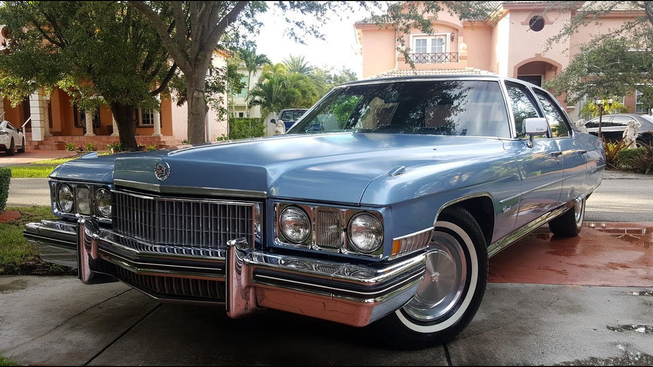 1973 cadillac fleetwood 60 special│brougham - youtube