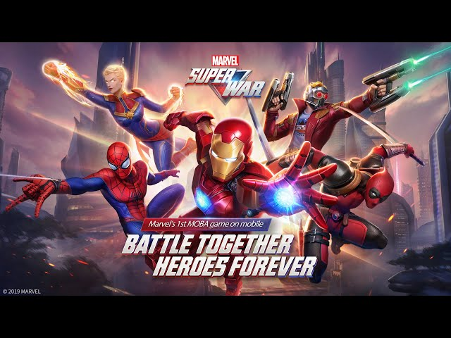 MARVEL Super War is released today!