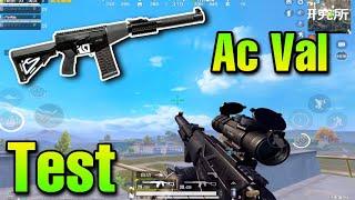 Test New Gun AC VAL In Rank Classic