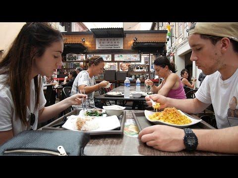 Singapore | She forgot to push record! | Travel Vlog E03