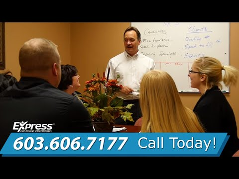 Temp Agencies In Manchester NH - Express Employment Professionals - Staffing Agency