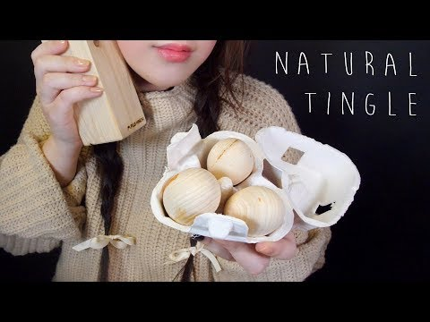 ASMR Natural Wood Sounds Collection (No Talking) 🌳