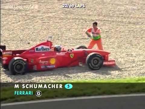 Michael Schumacher - Villenueve colision