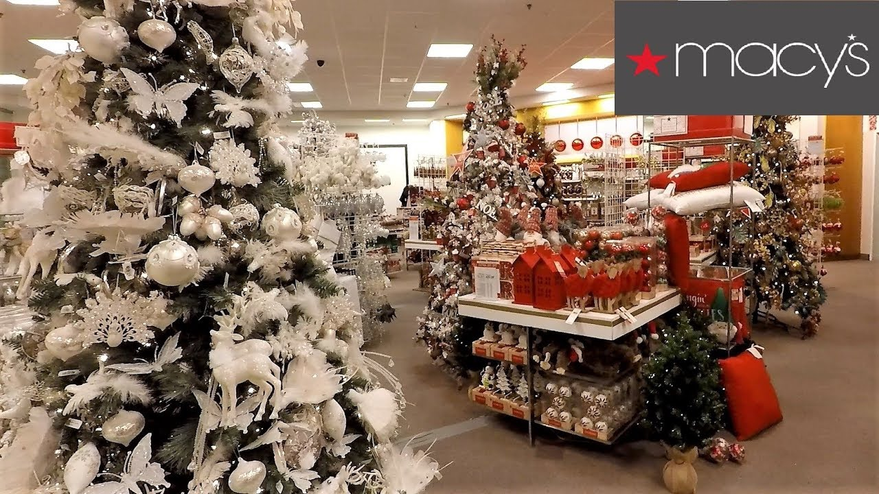 Macys Christmas Tree.Christmas At Macy S Christmas Shopping Ornaments Decorations Home Decor Clothing Toys