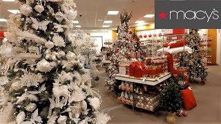 CHRISTMAS AT MACY