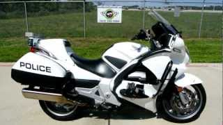 2009 Honda ST1300 Police Bike Overview Review Walk Around