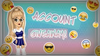 Account giveaway