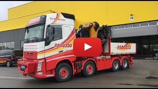 Volvo FH16 Globetrotter Kranfahrzeug - Panozzo Transport - Lkw-Thorsten TV