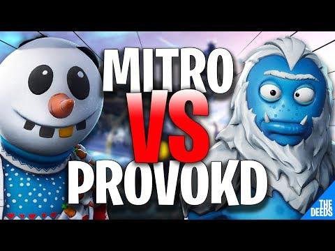 Atlantis Mitro 1 VS 1 Asus Pr0vokd | Fortnite Pro Playgrounds *EU 90s*