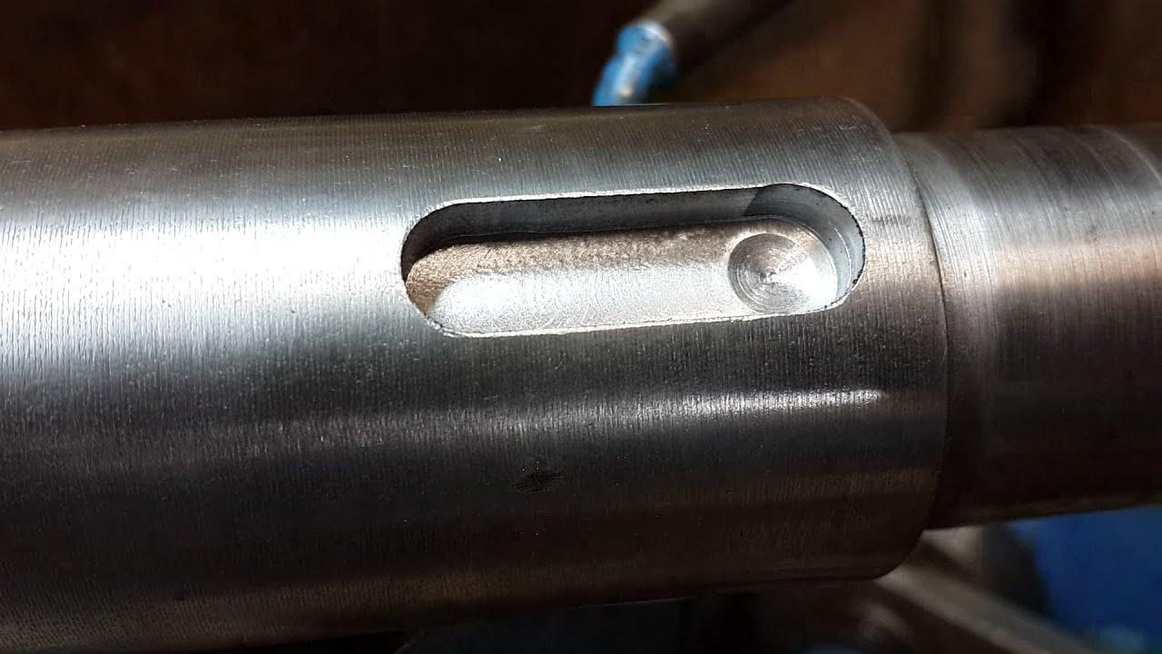 Как сделать пазы в металле 118