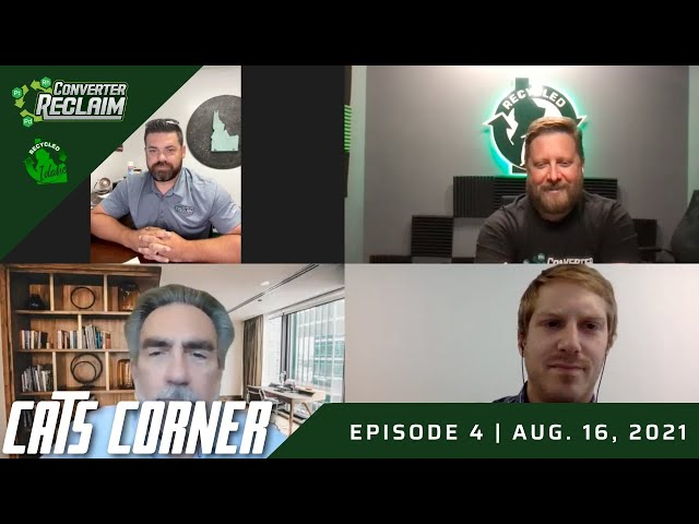 Cats Corner Episode #4 With Pete Thomas, Scott Pollan Nick Snyder and Aaron Young