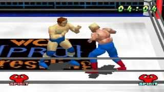 WCW vs The World PS1 1080P HD Playthrough - WCW TITLE - STING vs LORD STEVEN REGAL