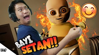 ASTAGA NGURUS BAYI SETAN!!! PARAH!! WKWK Baby In Yellow [SUB INDO] ~Saya Suka Game Ini wkwk!! screenshot 2