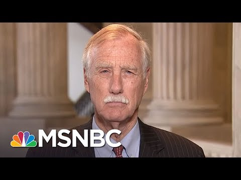 Sen. Angus King On Senate Health Care Bill: It
