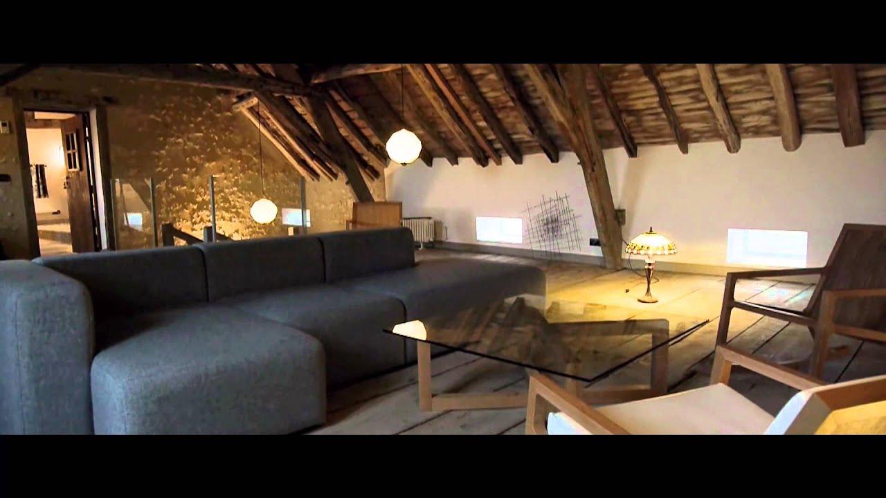 VIDEO Mr HARREL Chambres d h´tes Les Templiers  CHARROUX dans l
