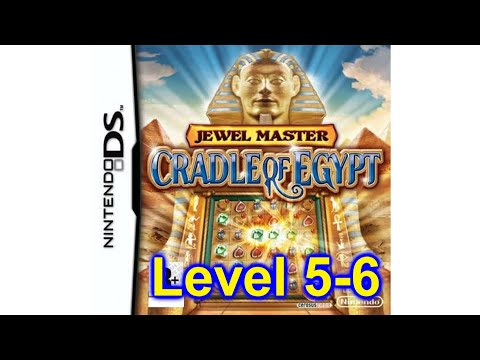 Jewel Master Cradle Of Egypt Game Nintendo DS Playing Levels 5 - 6
