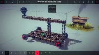 Besiege #1. [Гайд] Как строить катапульту?