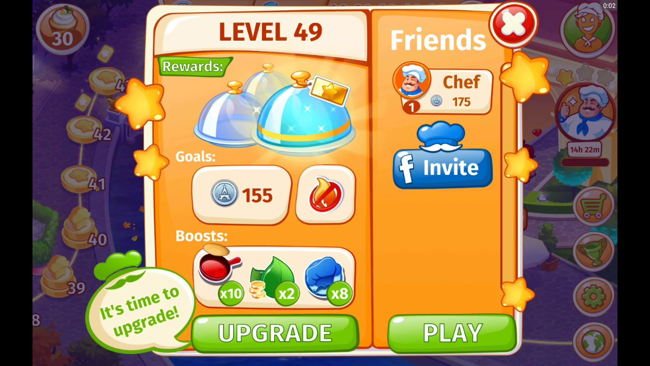 11 cooking craze town paris level 49 frog legs and macaroons